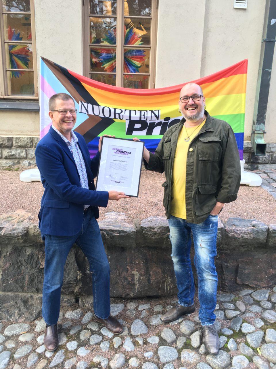 Jukka Lehtonen ja Juha Kilpiä