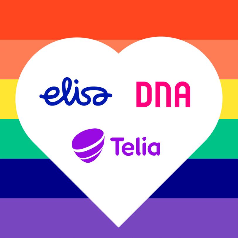 Elisa DNA Telia Yhdessa